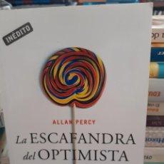 Libros: LA ESCAFANDRA DEL OPTIMISTA ALLAN PERCY. Lote 260791845