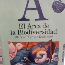 Libros: EL ARCA DE LA BIODIVERSIDAD JOSE ANTONIO PASCUAL TRILLO. Lote 260792495