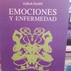 Libros: EMOCIONES Y ENFERMEDAD CLELIA OLAZO. Lote 260792865