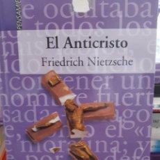 Libros: EL ANTICRISTO Y LA GAYA CIENCIA FRIEDRICH NIETZSCHE. Lote 260793115