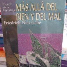 Libros: MAS ALLA DEL BIEN Y DEL MAL FRIEDRICH NIETZSCHE. Lote 260793640