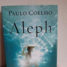 Libros: ALEPH PAULO COELHO. Lote 262425865