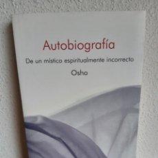 Libros: AUTOBIOGRAFIA OSHO. Lote 262428255