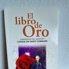 Libros: EL LIBRO DE ORO SAINT GERMAIN. Lote 262431625