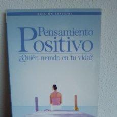 Libros: PENSAMIENTO POSITIVO QUIEN MANDA EN TU VIDA MIRIAM SUBIRANA Y RAMON RIBALTA. Lote 262432850