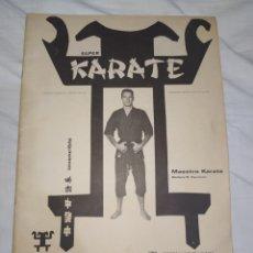 Libros: KARATE--MANUAL SUPER KARATE-- EN EXCELENTE ESTADO DE CONSERVACIÓN-- CON FOTOGRAFÍAS Y TÉCNICAS BIEN. Lote 268746864