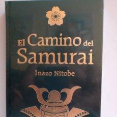Libros: EL CAMINO DEL SAMURAI DE INAZO NITOBE. EDICIÓN DE LUJO. Lote 269324898