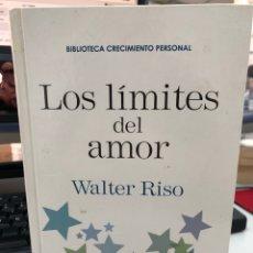 Libri: LOS LÍMITES DEL AMOR - WALTER RISO. Lote 271816988
