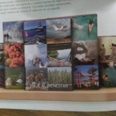 Libros: VIAJE AL BIENESTAR. 5 TOMOS, 12+1 DVDS. 1 GUÍA DE CONSULTA.. Lote 272055048