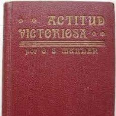 Libros: ACTITUD VICTORIOSA ORISON SWETT MARDEN. Lote 277134303