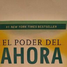 Libros: EL PODER DEL AHORA DE ECKHART TOLLE. Lote 278296388