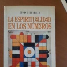 Libros: LA ESPIRITUALIDAD EN LOS NUMEROS GEORG FEUERSTEIN RELIGION BUDISMO. Lote 288941933