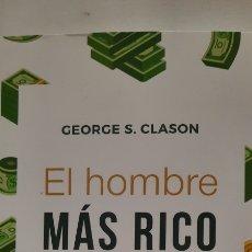 Libros: EL HOMBRE MÁS RICO DE BABILONIA DE GEORGES S. CLASON. Lote 290311373