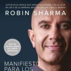 Libros: MANIFIESTO PARA LOS HÉROES DE CADA DÍA. Lote 290988868