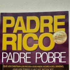 Libros: PADRE RICO PADRE POBRE. Lote 295751558