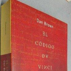 Libros de Aventuras: EL CÓDIGO DA VINCI / DAN BROWN / ED. UMBRIEL 2004. Lote 90877958