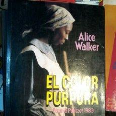 Libros de Aventuras: EL COLOR PURPURA-ALICE WALKER. Lote 91792530
