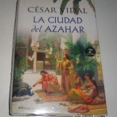Libros de Aventuras: LA CUIDAD DEL AZAHAR POR CESAR VIDAL (LIBRO TAPA DURA).. Lote 96121199