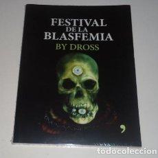 Libros de Aventuras: FESTIVAL DE LA BLASFEMIA POR ÁNGEL DAVID REVILLA . Lote 96852367