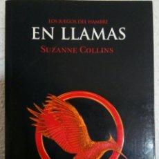 Libros de Aventuras: LIBRO -EN LLAMAS- DE SUZANNE COLLINS. Lote 97311555