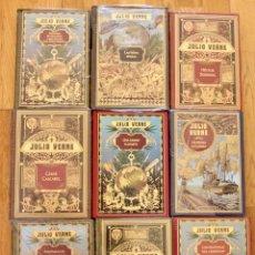Libros de Aventuras: JULIO VERNE - COLECCION HETZEL RBA - EN PERFECTO ESTADO - 21 TITULOS (LEER DESCRIPCION).. Lote 97761427