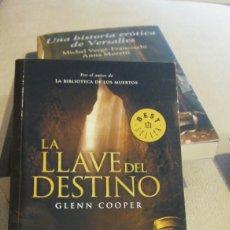 Libros de Aventuras: LIBRO LA LLAVE DEL DESTINO FE GLENN COOPER . Lote 97947198