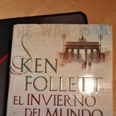 Libros de Aventuras: EL INVIERNO DEL MUNDO. KEN FOOLLETT. Lote 104212067