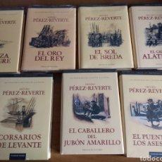 Libros de Aventuras: LAS AVENTURAS DEL CAPITÁN ALATRISTE, PÉREZ REVERTE + REGALO. Lote 107407800