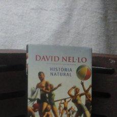 Libros de Aventuras: HISTÓRIA NATURAL DAVID NEL.LO (2A. EDICIÓ MARÇ DEL 2003). Lote 111046427
