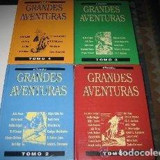 Libros de Aventuras: COLECCIÓN COMPLETA GRANDES AVENTURAS 4 TOMOS 95 TÍTULOS. Lote 113039995