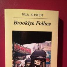 Libros de Aventuras: BROOKLYN FOLLIES. PAUL AUSTER.. Lote 114102388