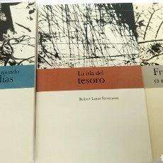 Libros de Aventuras: JOYAS DE LA LITERATURA, 7 LIBROS, LA ISLA DEL TESORO, FRANKENSTEIN, ETC.. Lote 122090731