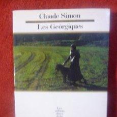 Libros de Aventuras: CLAUDE SIMON. LES GEÒRGIQUES. Lote 130890020