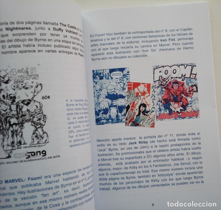 Libros: John Byrne, La era Charlton 1975-1976. Estudio sobre el autor. - Foto 2 - 201839686