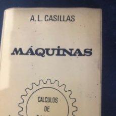 Libros: MÁQUINAS CÁLCULOS DE TALLER. Lote 268999004