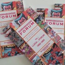 Libros: BARRABASADAS FORUM: LLEGA...¡FORUM! 1982-1985 . ESTUDIO SOBRE LA EDITORIAL DE CÓMICS. Lote 274863768