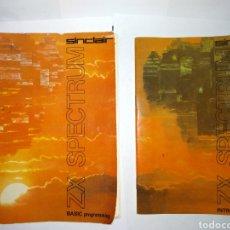 Libros: SPECTRUM ZX DOS MANUALES ORIGINAL. Lote 278618838