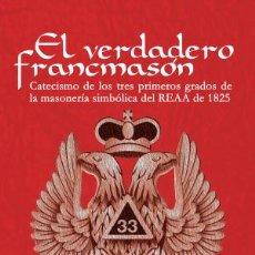 Libros: LIBRO DE MASONERÍA. Lote 286245418