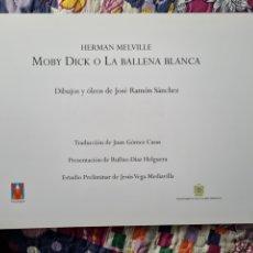 Libros: MOBY DICK. PUBLICADO POR EL AYUNTAMIENTO DE CASTRO URDIALES. 2002. Lote 288614638