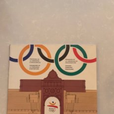 Libros: PROGRAMA DE CEREMONIA INAUGURACIÓN BARCELONA 92 DEPORTE JUEGOS OLÍMPICOS ESPAÑA 1992 TIPO LIBRO JJOO. Lote 289629093