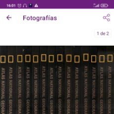 Livros: ATLAS NATIONAL GEOGRAPHIC. Lote 293431703