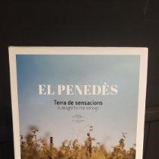 Libros: EL PENEDÈS TERRA DE SENSACIONS A DELIGTH FOR THE SENSES EN CATALAN. Lote 295700958