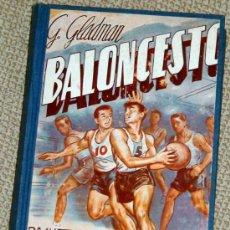 Coleccionismo deportivo: BALONCESTO, G. GLADMAN. 1963. Lote 18185110