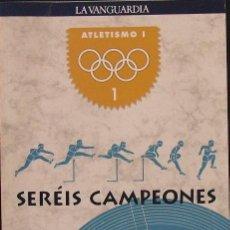 Coleccionismo deportivo: SERÉIS CAMPEONES. GUÍAS DE DEPORTES OLÍMPICOS (20 GUÍAS. COLECCIÓN COMPLETA CON ESTUCHE). Lote 18190776