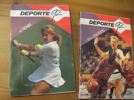 2 LIBROS DEL DEPORTE 92 - 1 BALONCESTO Y 4 TENIS. (Coleccionismo Deportivo - Libros de Baloncesto)