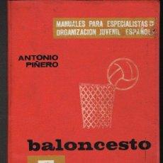 Coleccionismo deportivo: BALONCESTO - ANTONIO PIÑERO - AÑO 1969. Lote 30180086