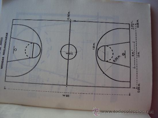 Coleccionismo deportivo: F.I.B.A.- Reglas Oficiales de Baloncesto 23-6-1984- - Foto 3 - 31266254