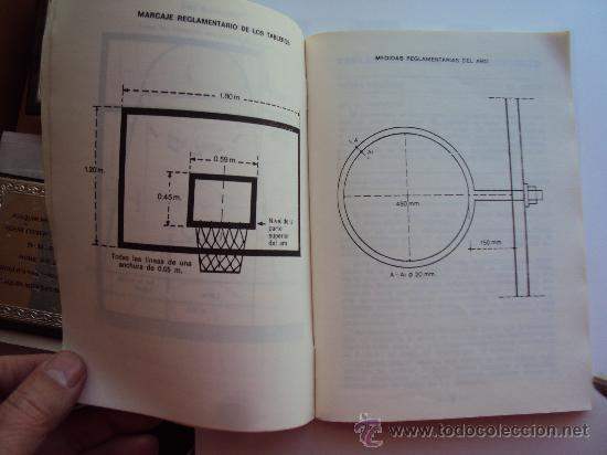 Coleccionismo deportivo: F.I.B.A.- Reglas Oficiales de Baloncesto 23-6-1984- - Foto 4 - 31266254