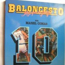 Coleccionismo deportivo - BALONCESTO, MÁS QUE UN JUEGO. LA ESTRATEGIA PREPARTIDO. COMAS, Manel. 1991 - 31691223