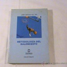 Coleccionismo deportivo - Metodología del Baloncesto. (autor: José Antonio del Río) - 32000402